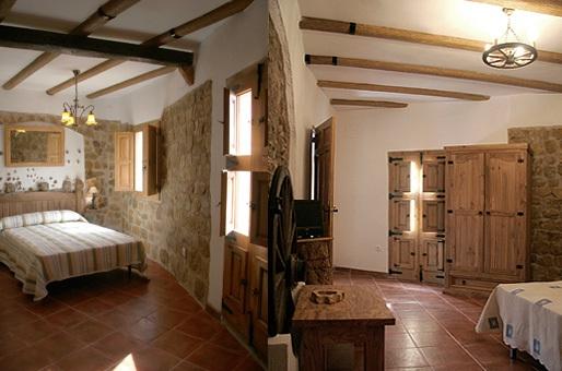 habitaciones  casa rural castellon alba