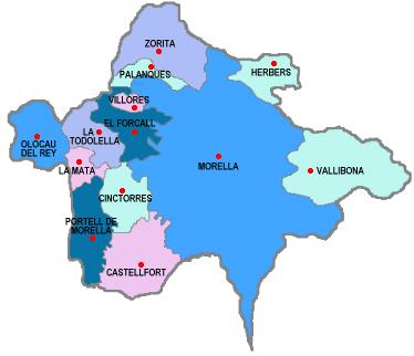 mapa els ports