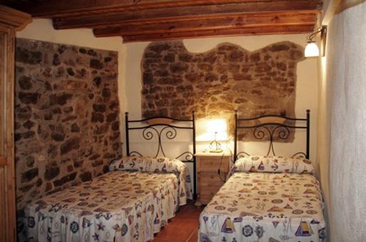 Habitación casa rural castellon laperdiu