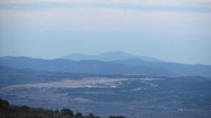 Localización del aeropuerto de Castellón